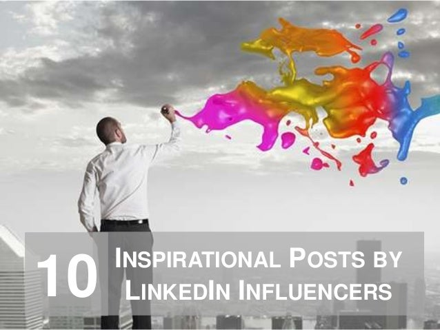 INSPIRATIONAL POSTS BY LINKEDIN INFLUENCERS10