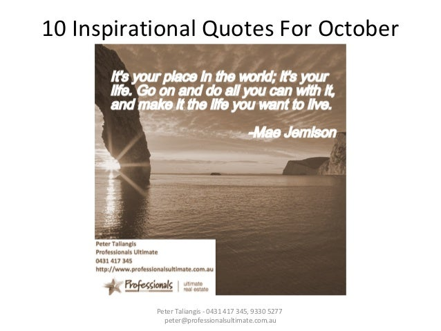 Inspirational Words Love Quotes — Welcome to October a love ...