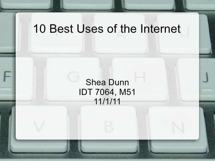 10 internet tools