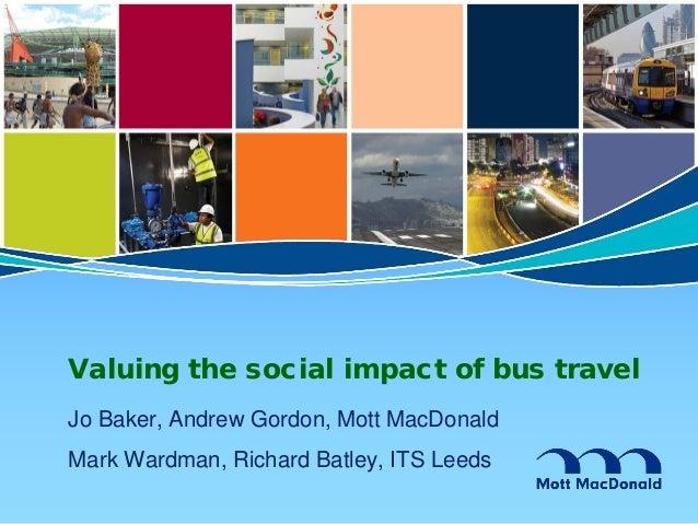 Valoració de l'impacte social i econòmic de la mobilitat