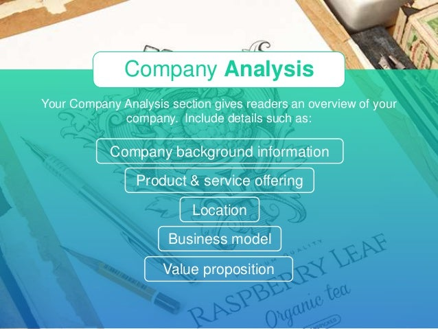 Key sections of a business plan