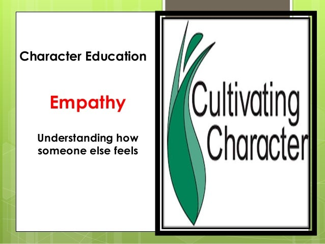 10 keys cultivating character