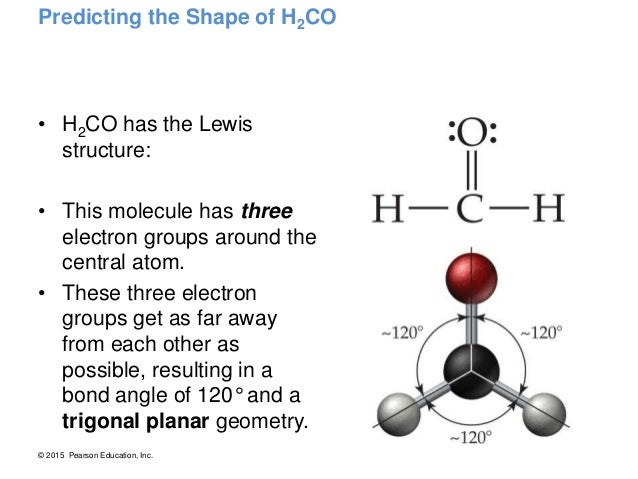 Gallery For > Lewis Dot Structure Of H2co H2co Molecular Geometry