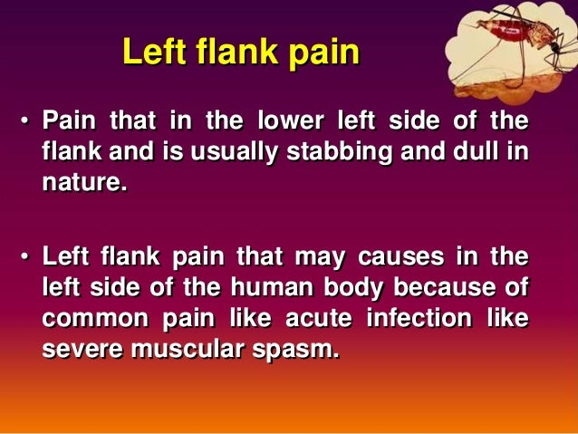 Left Flank Pain Causes Symptoms Diagnosis And Treatment