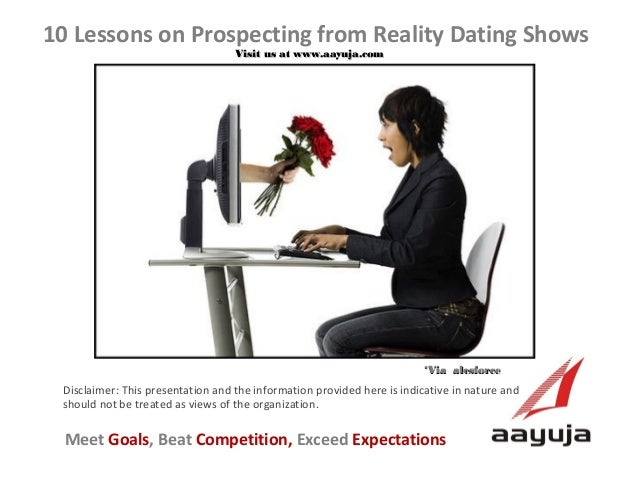 10 Lessons on Prospecting from Reality Dating Shows