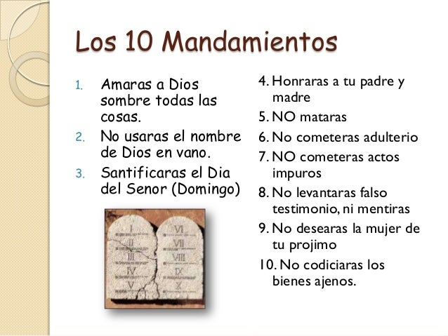 Mandamientos Del Matrimonio Catolico : Solo dios basta mayo