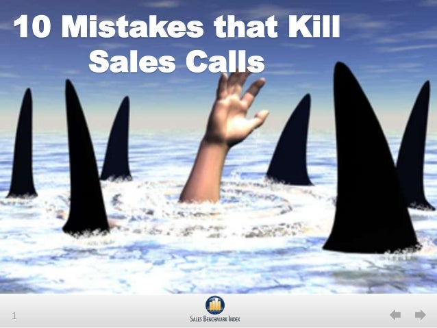 110 Mistakes that KillSales Calls