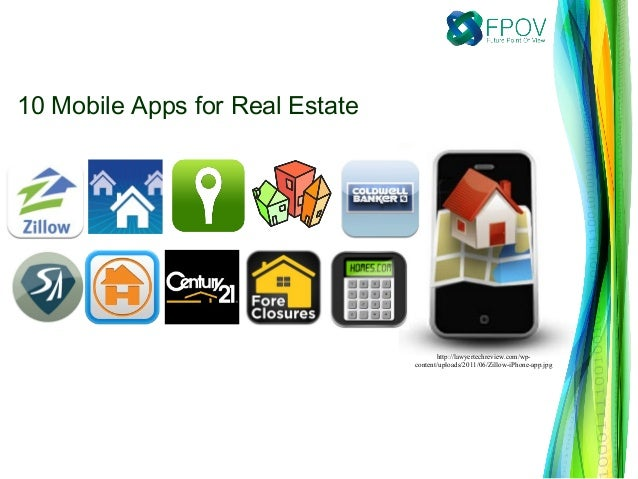 10 Mobile Apps for Real Estate