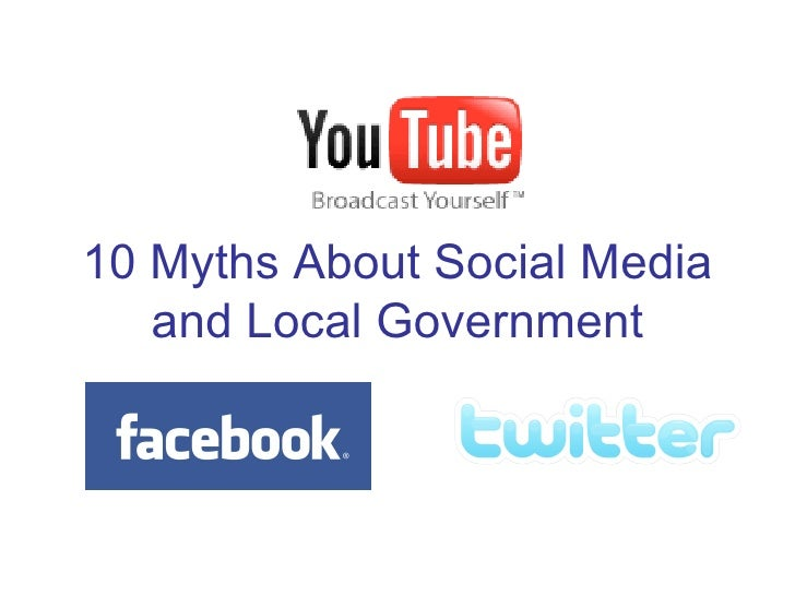 10 Myths About Social Media and Local Government