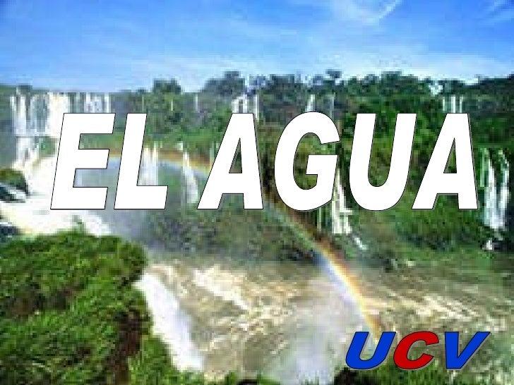 <ul><li>State the main ideas you'll be talking about </li></ul>11/19/09 EL AGUA