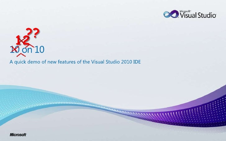 What is new in Visual Studio 2010