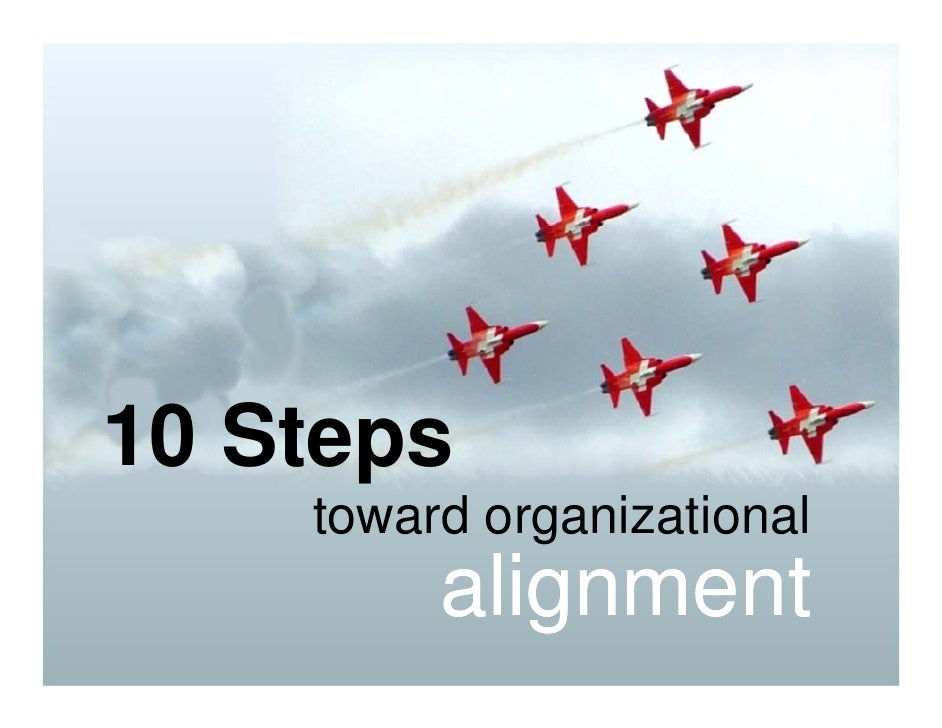 10 Steps to Organizational Alignment
