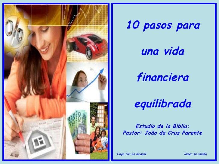 10 pasos para una vida financiera equilibrada