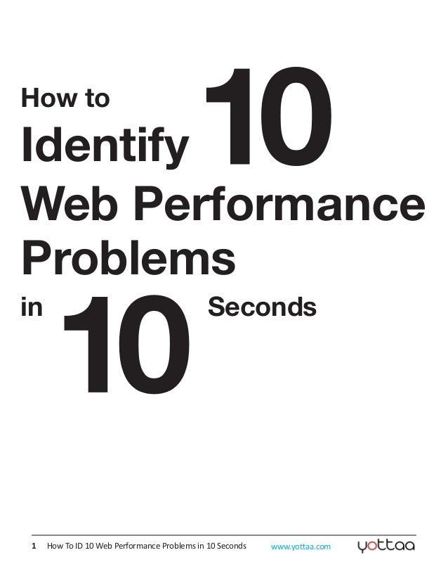 Descobrindo problemas de performance em 10 segundos
