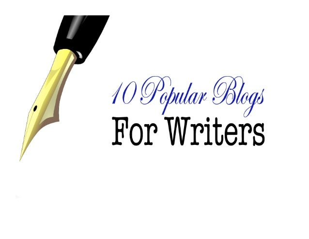 10 Popular Blogs for Writers