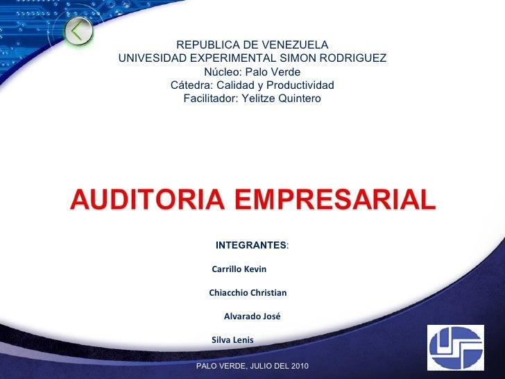 10 presentacion auditoria empresarial