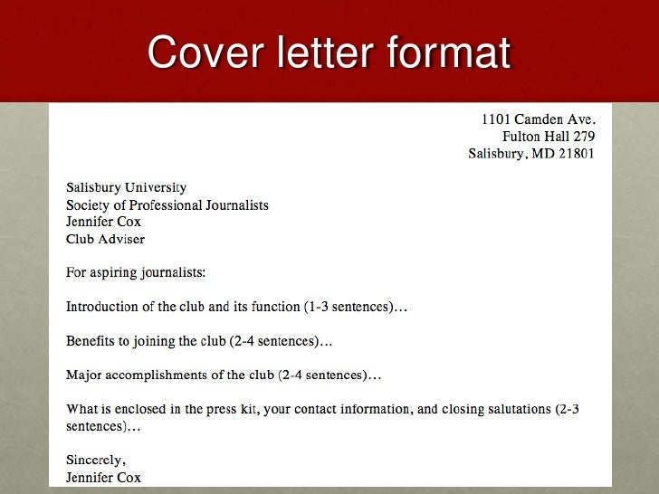 What should you name your cover letterthe four types of for What should you name your cover letter
