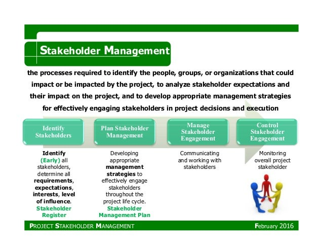 "stakeholder management In prm 612 project leadership team and stakeholder management, you'll see  how having a high ""eq"" can help you address issues involved with."