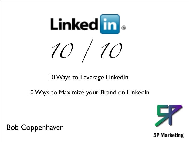 LinkedIn 10/10 2011 Pt1