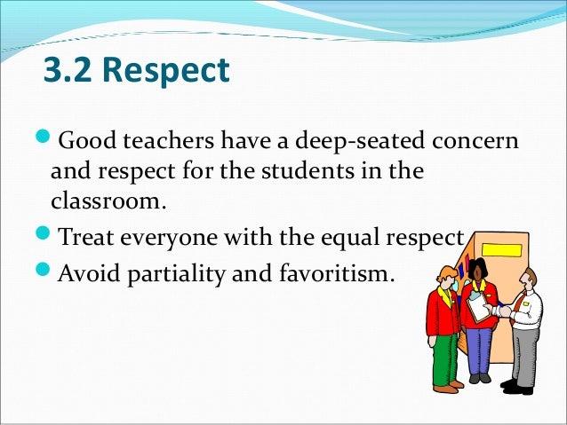 Respect your teachers and classmates - Prezi