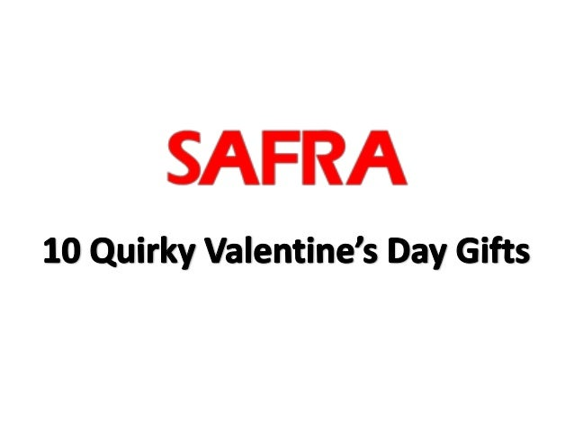 10 Quirky Valentine's Day Gifts