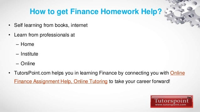 Do My Finance Homework