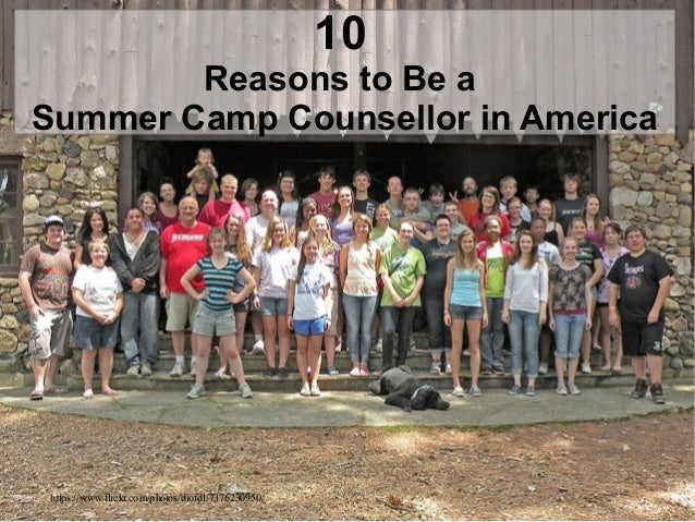 10 Reasons to Be a Summer Camp Counsellor in America https://www.flickr.com/photos/diofdl/7376230950/