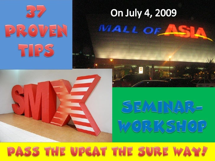 10 Reasons Why You Shouldnt Miss The 37 Tips Seminar Workshop