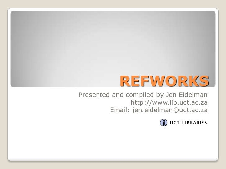 10 ref works 2.0 create bibliography