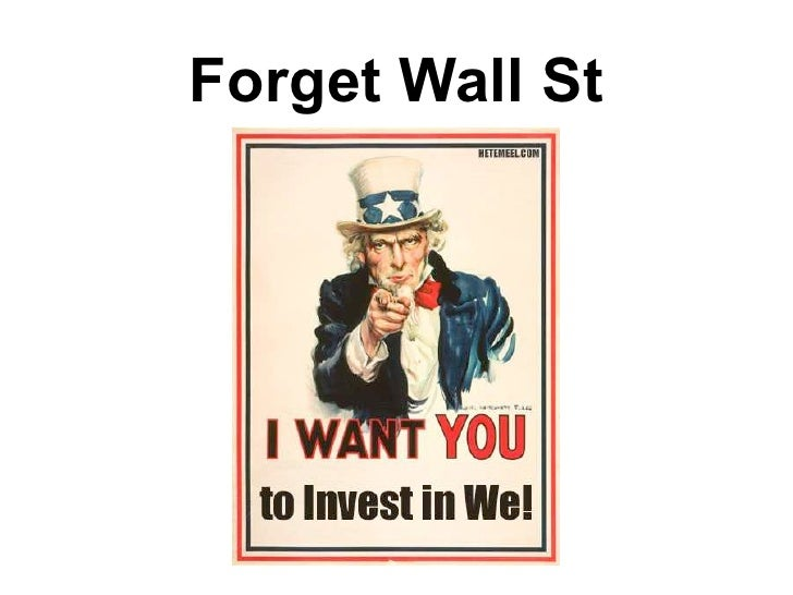 Forget Wall St