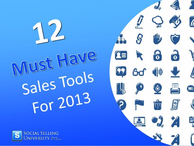 Sales tools io setup