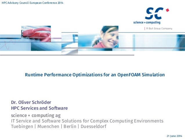 Runtime Performance Optimizations for an OpenFOAM Simulation
