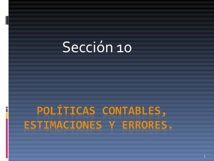 Sección 10