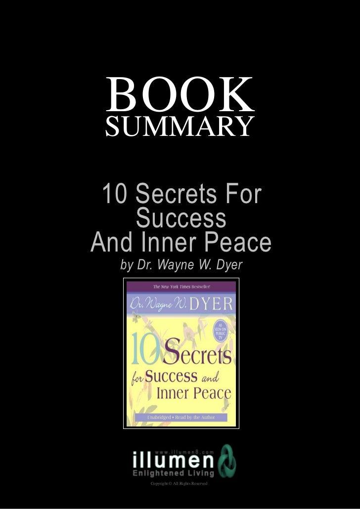 10 secrets of successful life