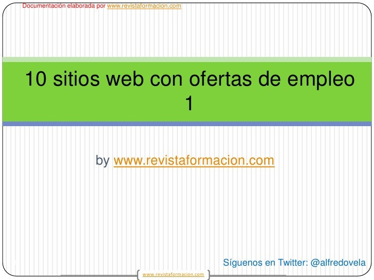 10 sitios web con ofertas de empleo 1