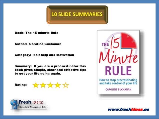Self help book summaries