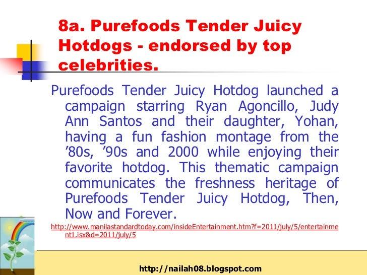 Purefoods price list