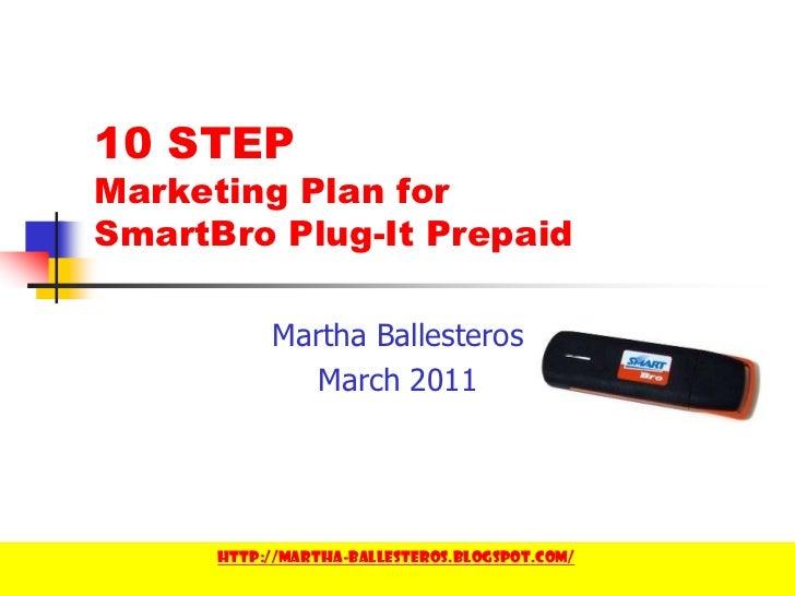 10 Step Marketing Plan - Martha Ballesteros