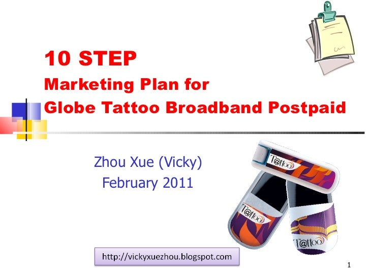 10 step marketing plan for globe tattoo broadband postpaid zhou xue (vicky)
