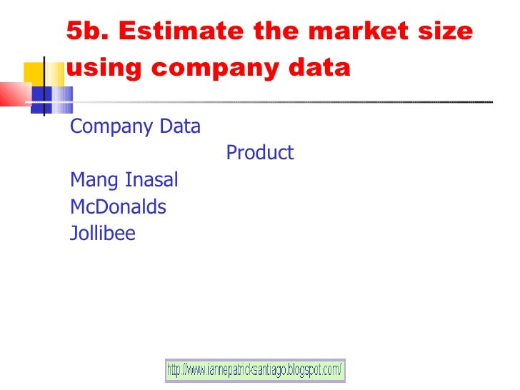 customer analysis of mang inasal Weaknesses filipino culture being a locally developed company mang inasal has from bsa bsa/310 at university of phoenix.