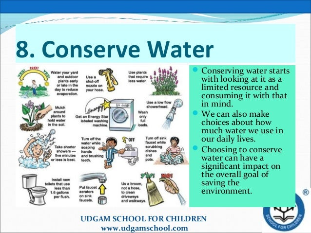 10 steps to save the earth for Top 10 ways to conserve water