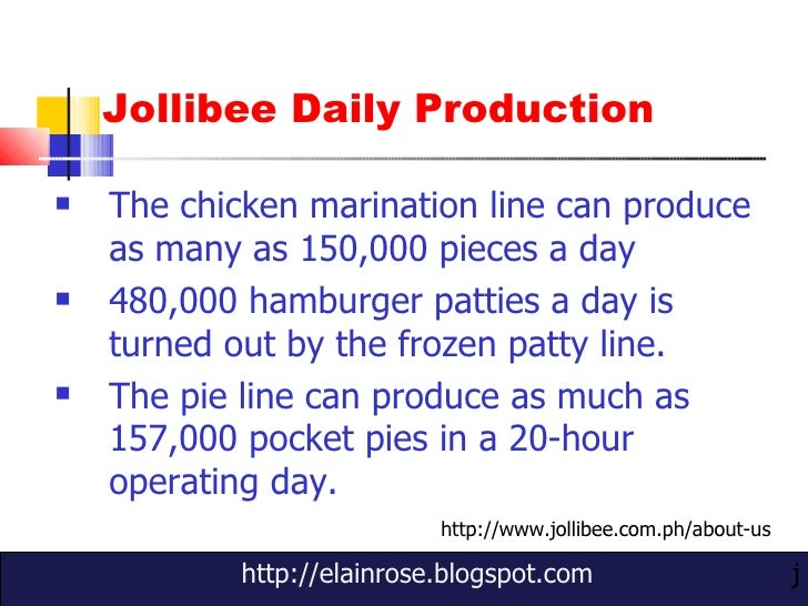 marketing plan for jollibee