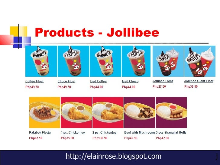 marketing strategy of jollibee food corporation Business essays: the marketing strategies of jollibee foods corporation.