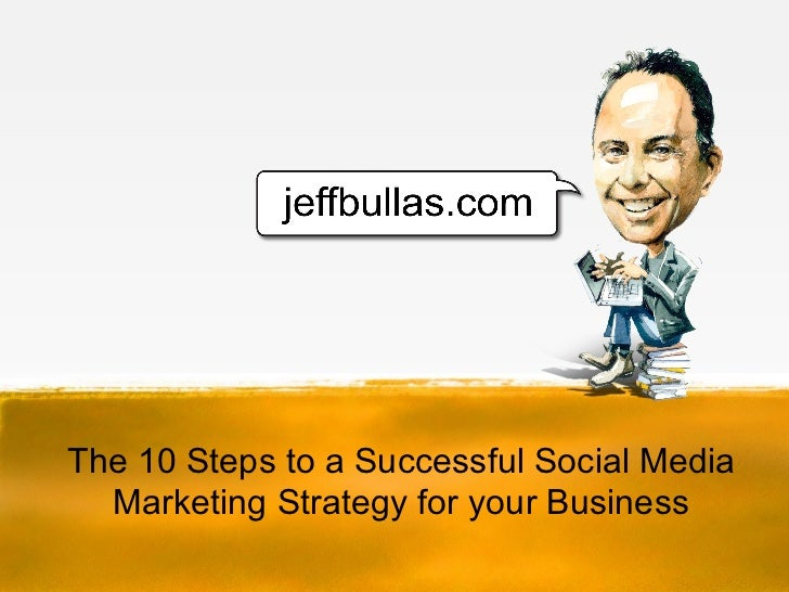 The 10 Steps to a Successful Social Media  Marketing Strategy for your Business
