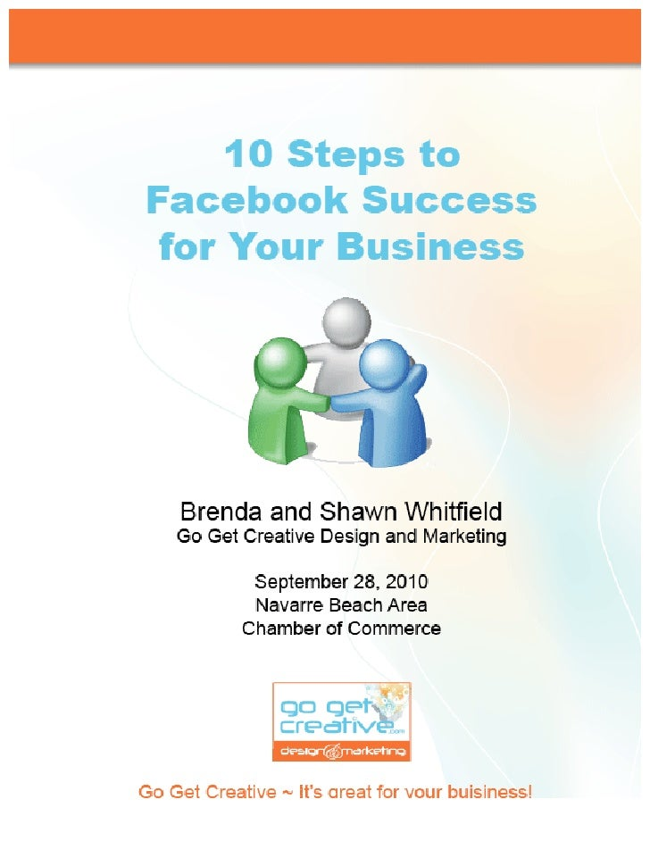 10 Steps to Facebook Success for Your Business - Transcripts