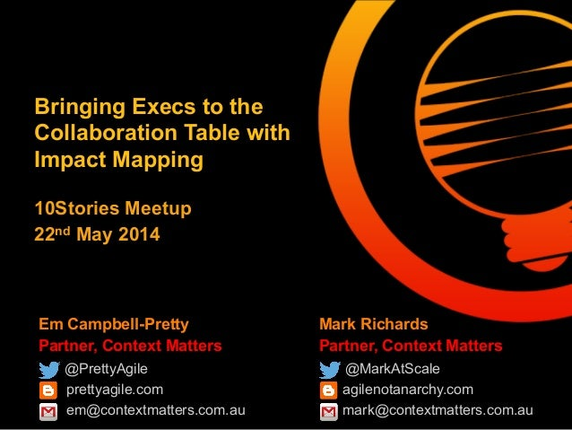 Bringing Execs to the Collaboration Table with Impact Mapping