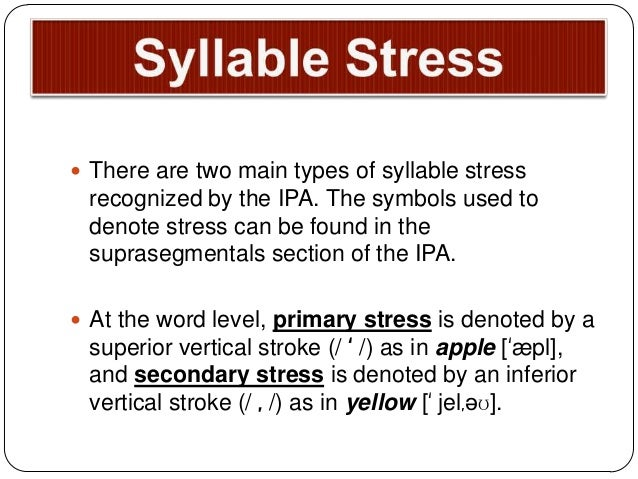 types of english stress Learn about four common types of stress, and find out how to manage them better.
