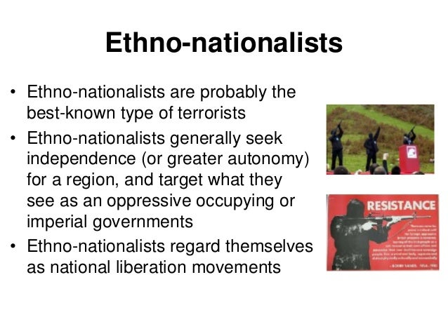 ethno nationalist terrorism