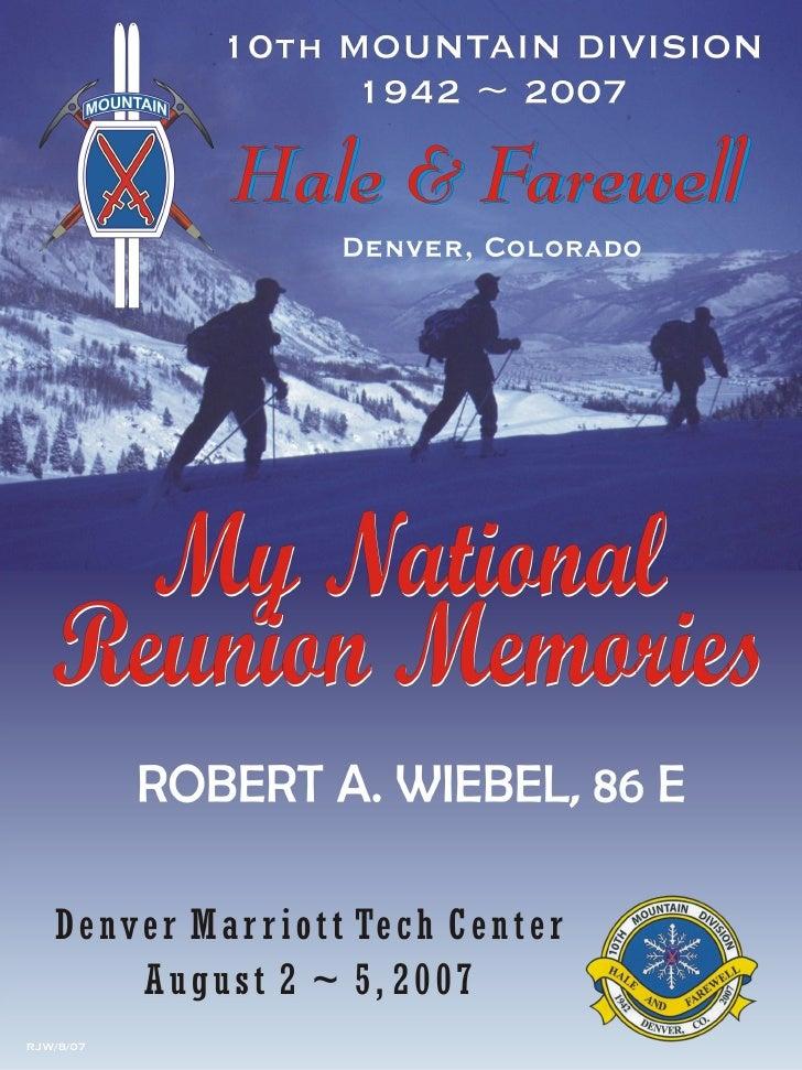 10th Mountain Reunion