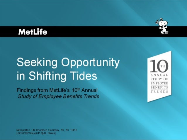 10th Annual Study Of Employee Benefit Trends